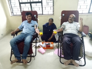 Blood donation camp organised on Shrijee Foundation Day