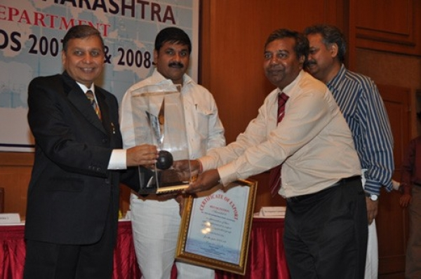 Second Award in the SSI Regional Award (Nashik)