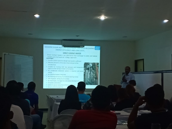 Lecture on Steam Saving Equipment in Philippines