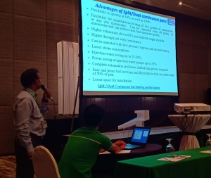 Presentation on Dual and Split Continuous Vacuum Pan in Philippines