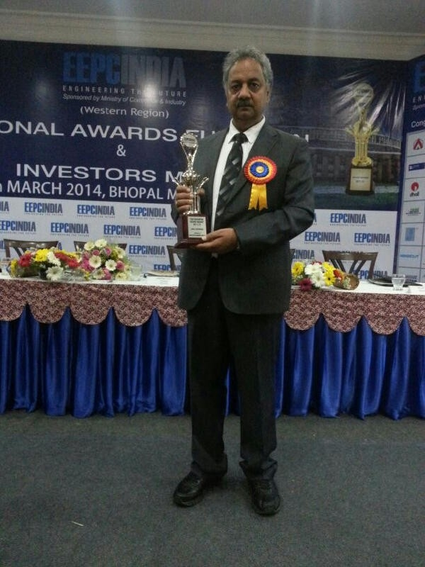 Silver trophy for Export Excellence