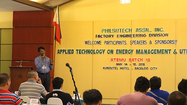 A lecture on Energy Conservation in Philippines