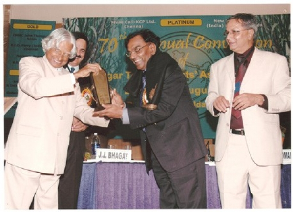 Sugar Technologists Association of India's Lifetime Achievement Award
